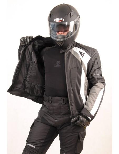 Tekstylna kurtka motocyklowa męska do turystyki i jazdy miejskiej KTM011 - Rypard.pl Odzież i akcesoria motocyklowe