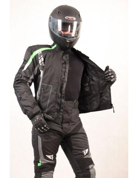 Tekstylna kurtka motocyklowa męska turystyczna/miejska KTM027 - Rypard.pl Odzież i akcesoria motocyklowe
