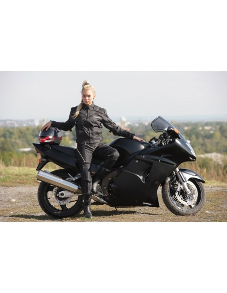 DAMSKA KURTKA TEKSTYLNA MOTOCYKLOWA KTD008