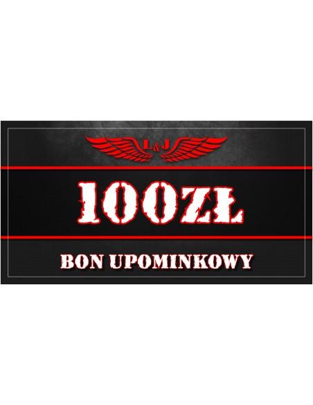 BON UPOMINKOWY 100