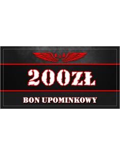 BON UPOMINKOWY 200