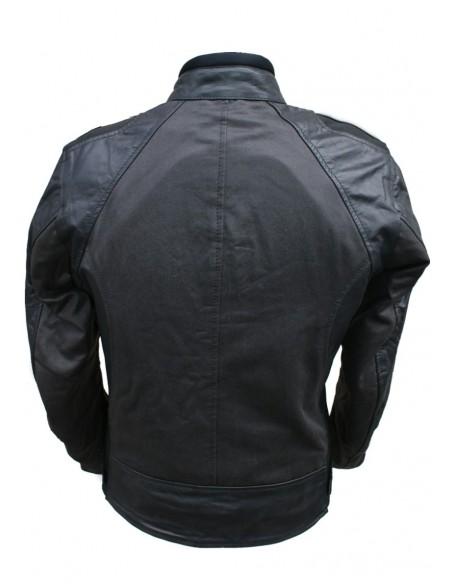 Tekstylno-skórzana kurtka motocyklowa damska KSD013 - Rypard.pl Odzież i akcesoria motocyklowe