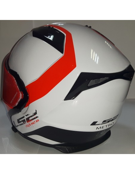 LS2 FF324 METRO RAPID WHITE RED
