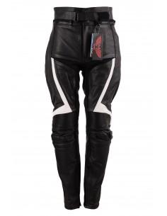 Spodnie motocyklowe skórzane męskie sportowo-turystyczne SSM015 - Rypard.pl Odzież i akcesoria motocyklowe