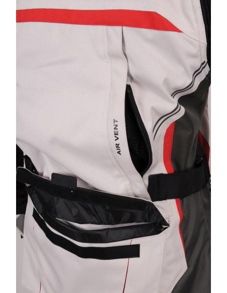 Tekstylna kurtka motocyklowa turystyczna długa damska ADVENTURE KTD013 - Rypard.pl Odzież i akcesoria motocyklowe