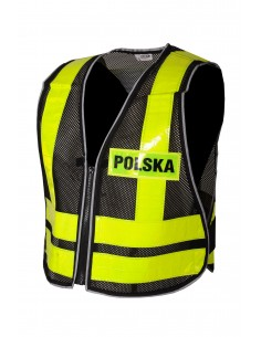 """KAMIZELKA ODBLASKOWA """"POLSKA"""""""
