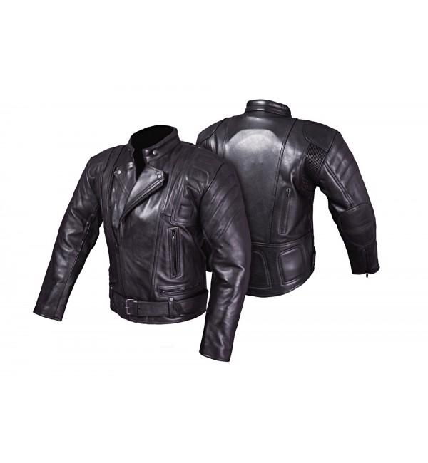 Uniwersalna skórzana kurtka motocyklowa POLICYJNA KSM001 - Rypard.pl Odzież i akcesoria motocyklowe