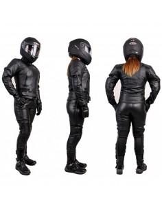 Damski kombinezon motocyklowy skórzany turystyczny/miejski KOM033 - Rypard.pl Odzież i akcesoria motocyklowe