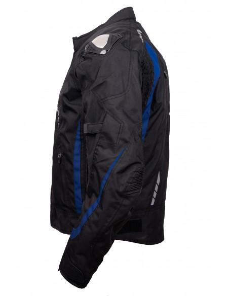 Kurtka motocyklowa męska turystyczna/sportowa FALCON BLUE, membrana HUMAX 10000, protektory SW LEVEL 2 - Rypard.pl