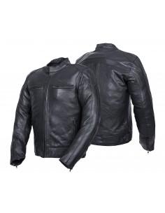 Turystyczna kurtka motocyklowa skórzana męska AVATAR - Rypard.pl Odzież i akcesoria motocyklowe