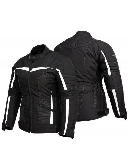 Tekstylna kurtka motocyklowa turystyczna damska CITY PRO WOMEN KTD020 - Rypard.pl Odzież i akcesoria motocyklowe