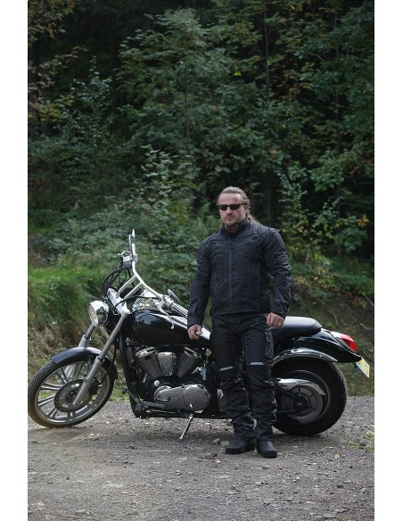 SPODNIE MOTOCYKLOWE TEKSTYLNE STM008