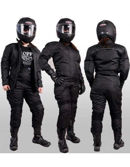 Długa kurtka motocyklowa turystyczna damska KTD002 - Rypard.pl Odzież i akcesoria motocyklowe