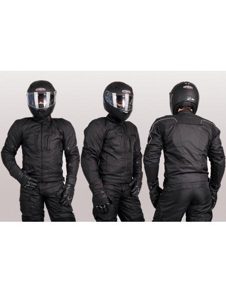 Tekstylna kurtka motocyklowa męska turystyczna/miejska KTM001 - Rypard.pl Odzież i akcesoria motocyklowe