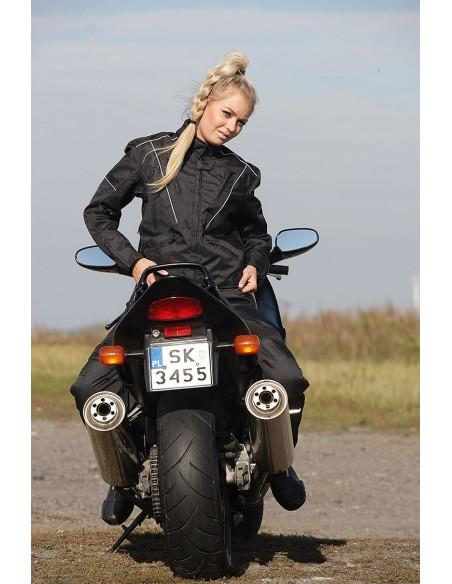 DAMSKA KURTKA TEKSTYLNA MOTOCYKLOWA  KTD005